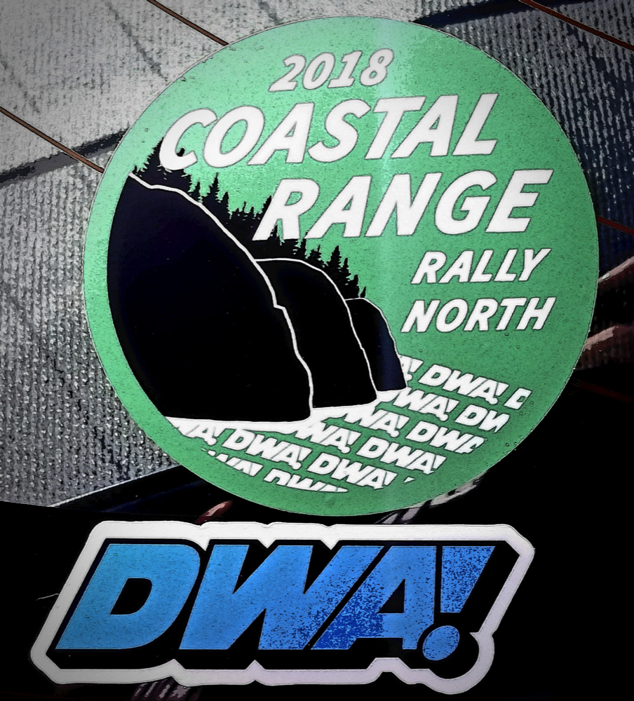 2018 DWA Coastal Range Rally - North