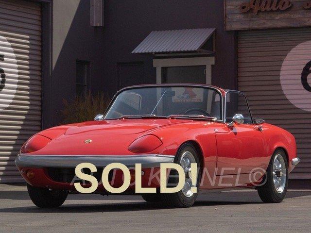 1967 Lotus Elan S3 Drophead Coupe