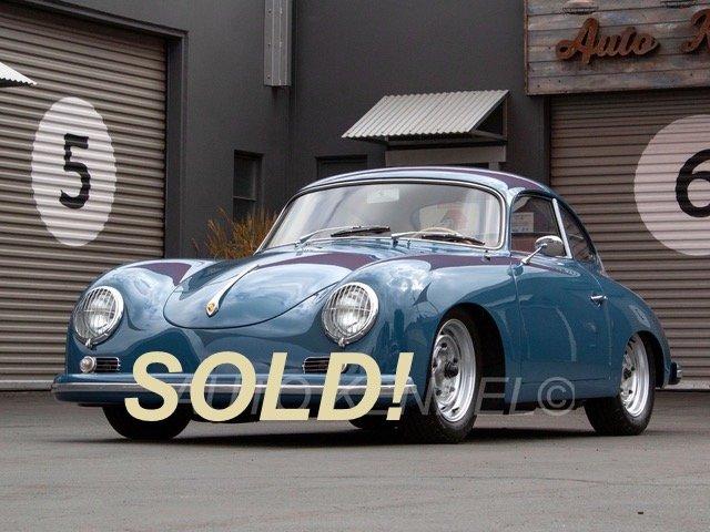 1958 Porsche 356A 1600 Reutter Coupe