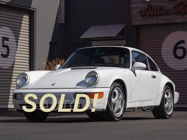 1993 Porsche 911 964 Carrera 2 Coupe