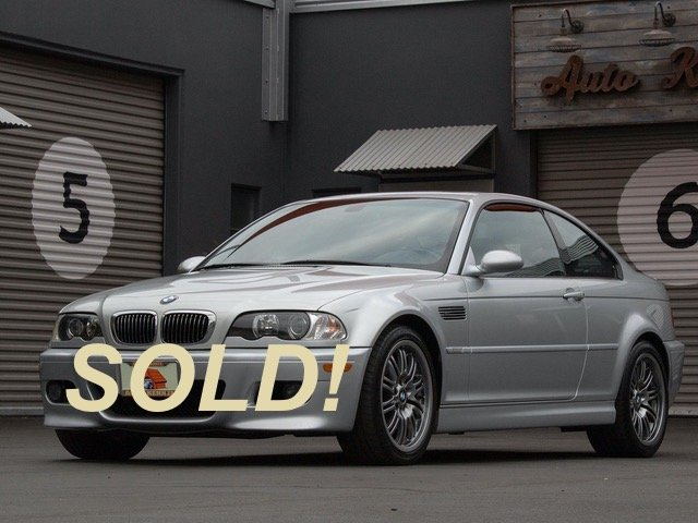 2005 BMW E46 M3 6-Speed Coupe