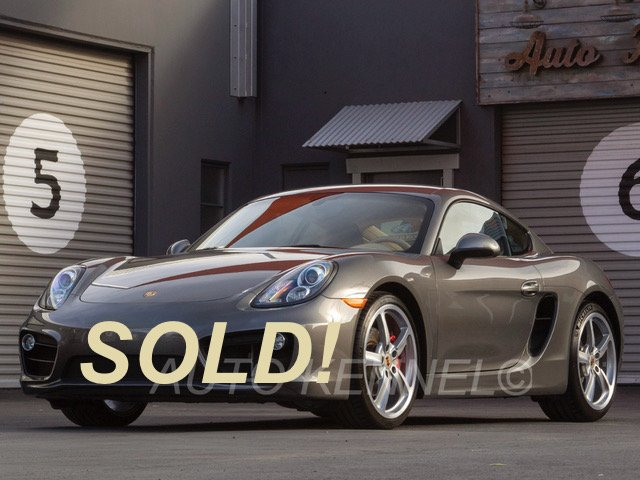 2015 Porsche Cayman S (981) Manual