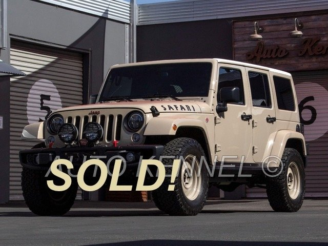 2016 Jeep Wrangler Unlimited Rubicon 4-Door 4x4