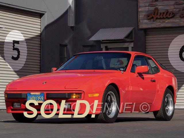 1983 Porsche 944 Coupe Manual