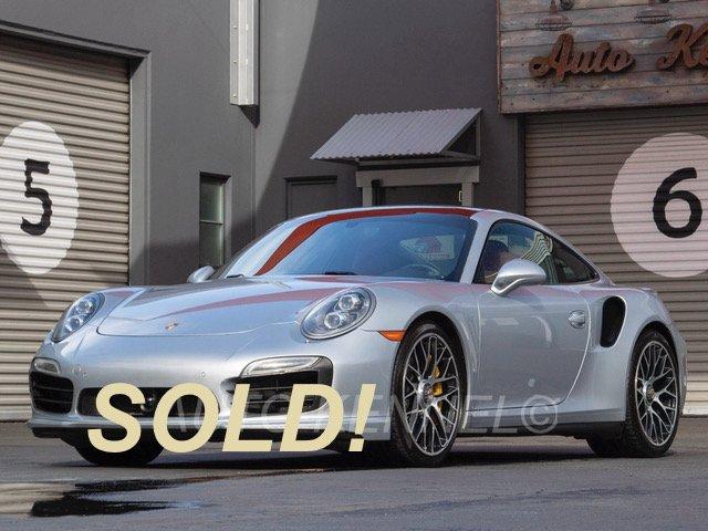 2014 Porsche 911 991 Turbo S Coupe