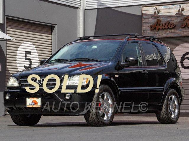 2001 Mercedes Benz ML55 AMG