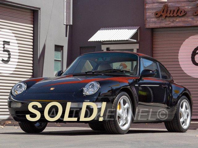 1995 Porsche 993 911 Carrera 2 Coupe