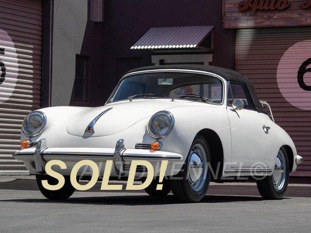 1961 Porsche 356 B 1600 Cabriolet (T5)