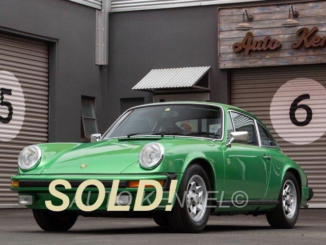 1974 Porsche 911 Low Mile SoCal Coupe