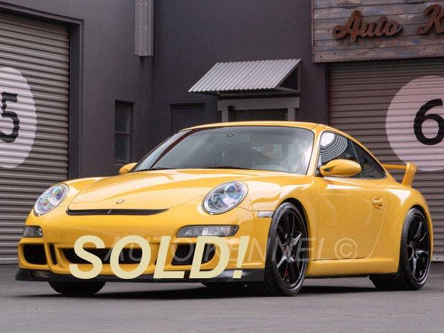 2007 Porsche 997 GT3 Coupe Original Paint Zero OverRevs
