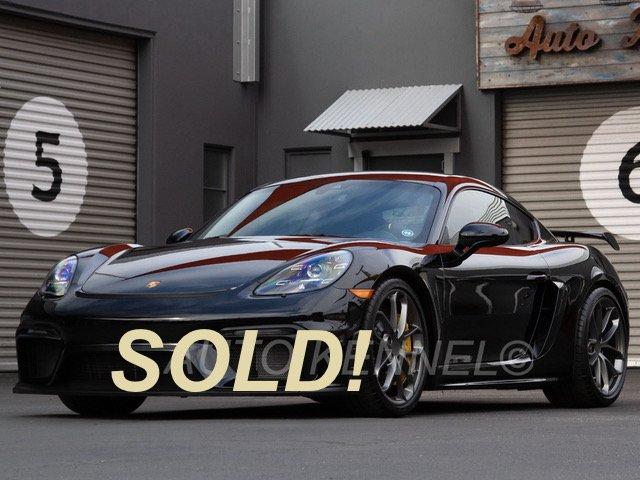 2020 Porsche 718 Cayman GT4 6-Speed Manual Only 700 Miles