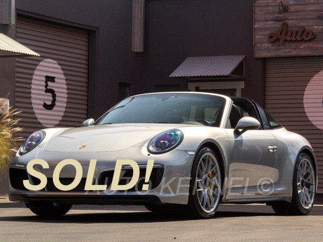 2017 Porsche 991.2/911 Targa 4 GTS 1-Owner $172k MSRP PCCB