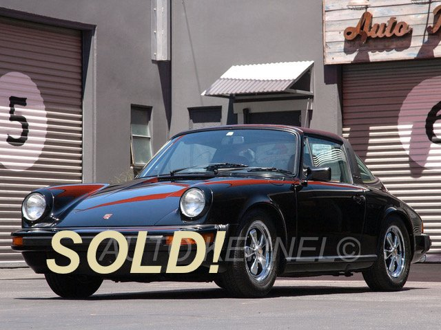 1974 Porsche 911 Targa 1-SoCal Owner and 46k Miles from New