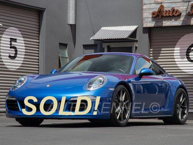 2014 Porsche 991 / 911 Carrera 4S Coupe Sport Design Pkg