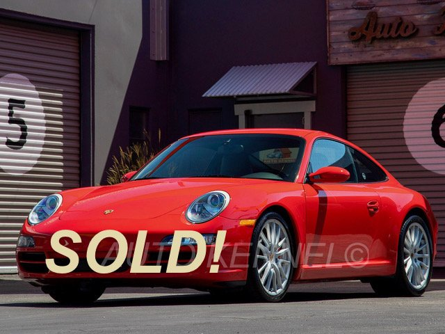 2006 Porsche 911 997 Carrera S Coupe 6-Speed Full Leather