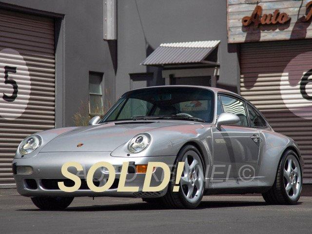 1998 Porsche 993 911 Carrera 2S (C2S) Coupe Last Air-Cooled