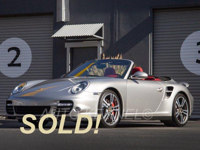 2011 Porsche 997.2 911 Twin Turbo Cabriolet 10k Miles $167k MSRP