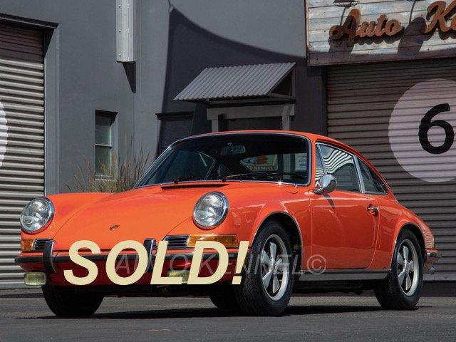 1971 Porsche 911 T Coupe in S Spec 2-Engines Tangerine
