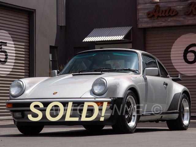 1989 Porsche 930 911 Turbo Coupe Original Paint 5-Speed