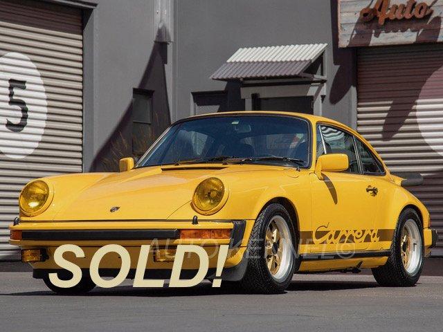 1976 Porsche 911 Carrera 3.0 Coupe Tartan Sport Seats