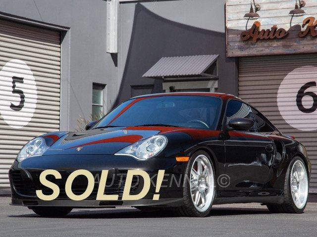 2001 Porsche 996/911 Twin Turbo Coupe 6-Speed 33k Miles
