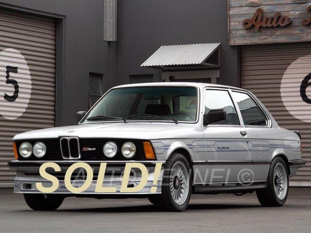 1982 BMW 323i / E21 Euro C1 2.3 Alpina US/CA Federalized